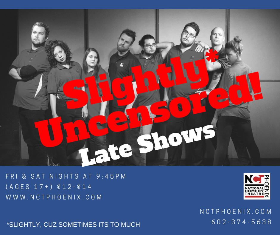 Slightly* Uncensored Late Show!