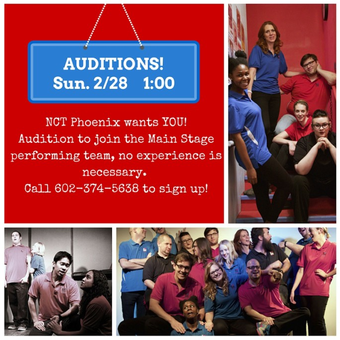 Auditions at NCT