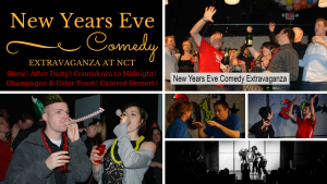 National Comedy Theatre New Year's Eve Comedy