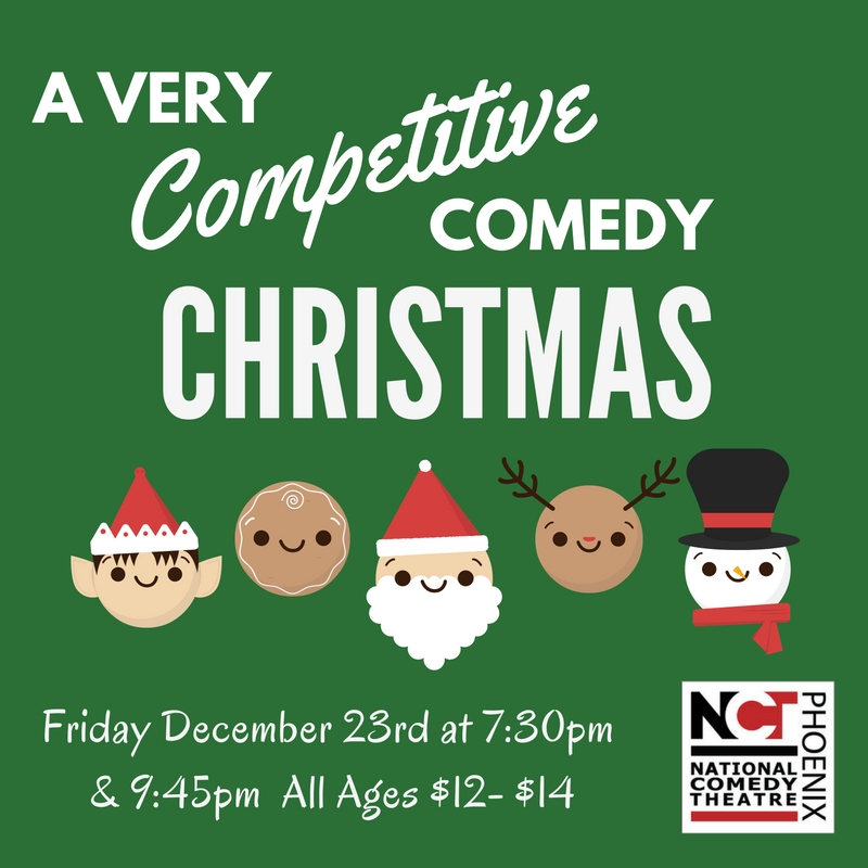 A Very Competitive Comedy Christmas at NCT