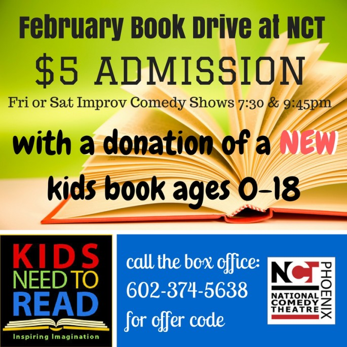 February Book Drive at NCT