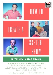 Kevin McDonald Workshop
