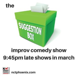 Suggestion Box Improv