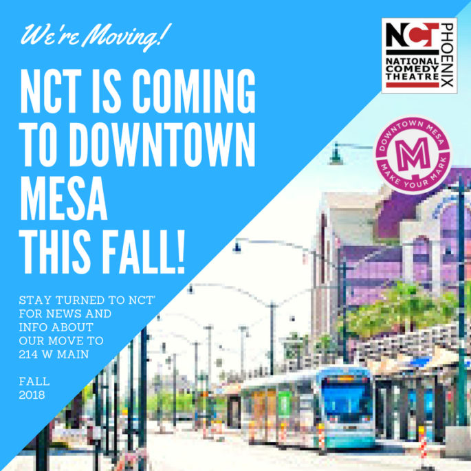NEWS: NCT is Coming to Downtown Mesa in the Fall!